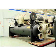 大型商场离心式水源热泵_螺杆式水源热泵代理-汇合空调设备=技术培训演示-【包头新闻网】