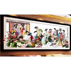 皇鼎国际大唐珠绣壁画,创业,赚钱,我帮您