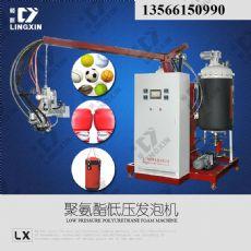 供應領新聚氨酯慢回彈拉通玩具pu發泡生產機械設備