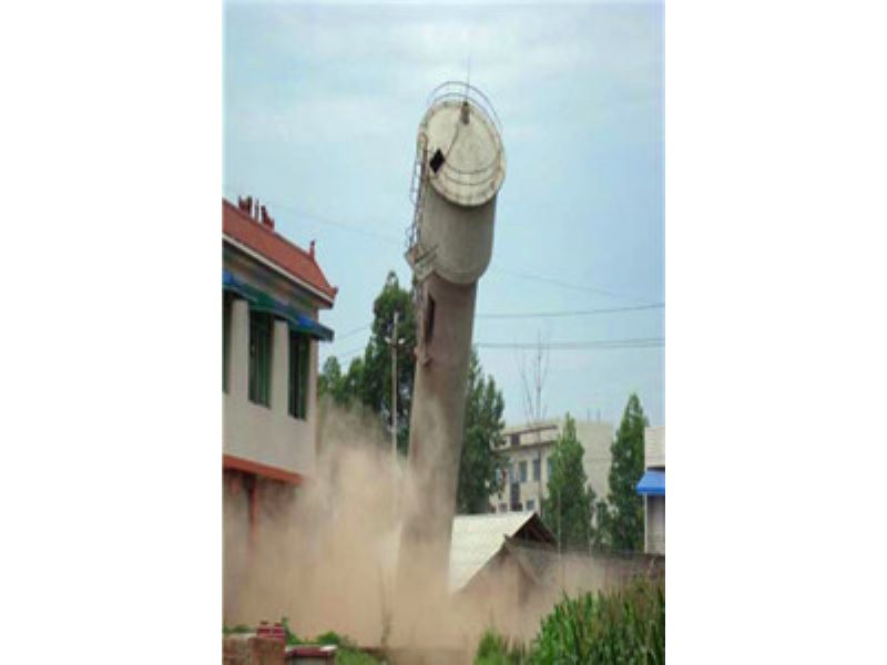 广东水塔爆破拆除