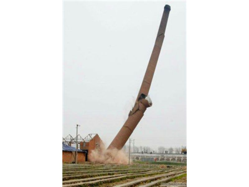 揭阳水泥烟囱拆除
