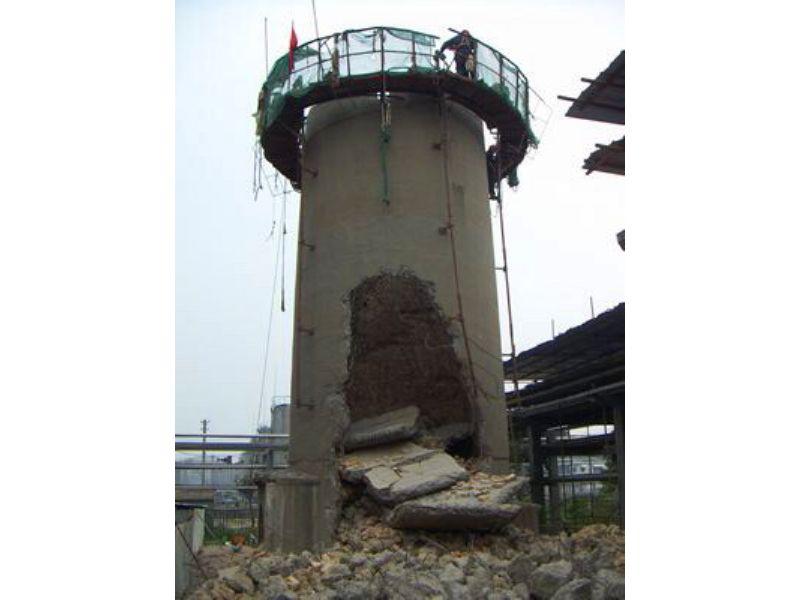 湛江人工烟囱拆除公司
