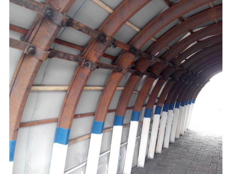 开封隧道专用一次成型WGJ-250工字钢弯拱机