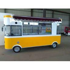 移动餐饮车多功能小吃车美食车电动四轮房车早餐快餐烧烤甜品