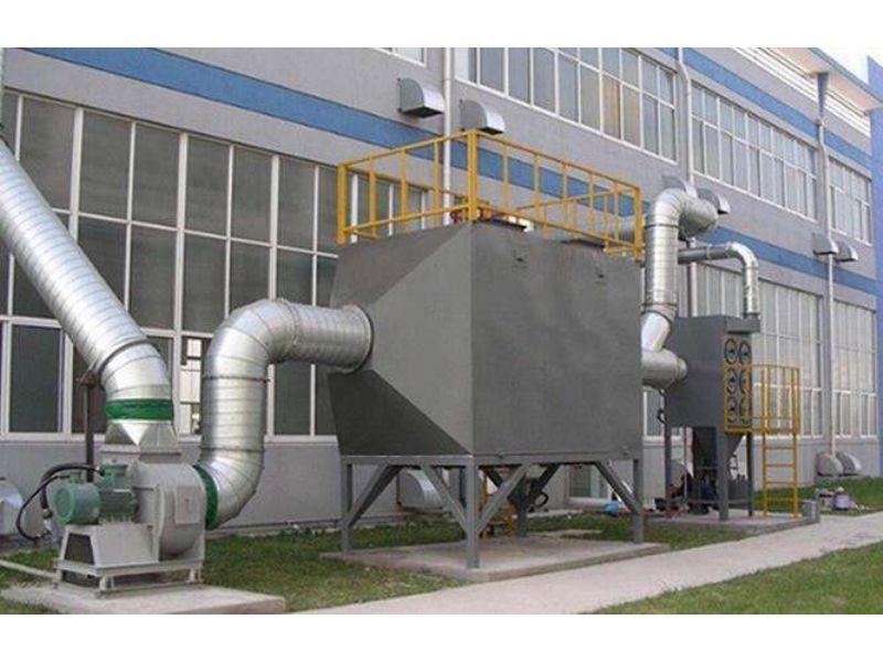 新沂废气吸附脱附设备空气净化系统