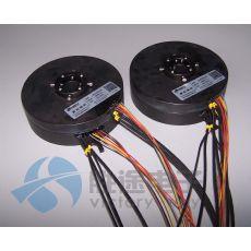 内径110mm盘式导电滑环 用于高度受限的?#21015;?#31354;间 装配机器人滑环