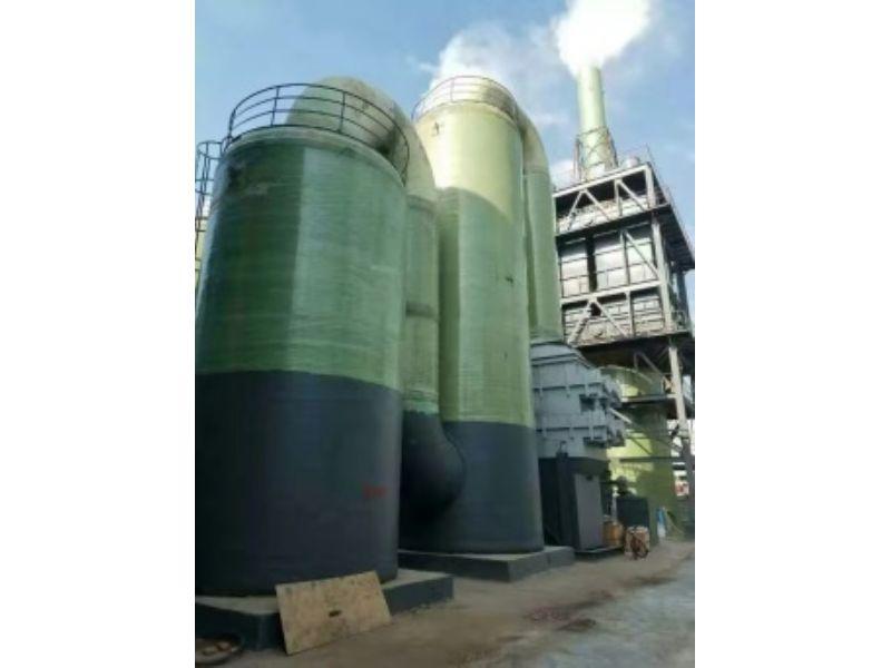 砖厂脱硫塔合同价格、砖厂湿法脱硫塔徐州隆康湿电除尘有限公司