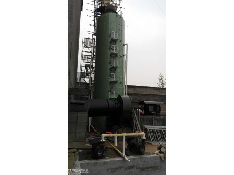 砖厂脱硫净化塔 除臭塔 、砖厂超低排放塔铜陵隆康砖厂脱硫塔订购合同