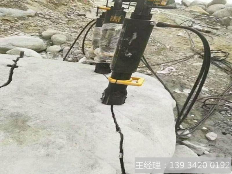 新型破碎开采设备岩石分裂劈裂机