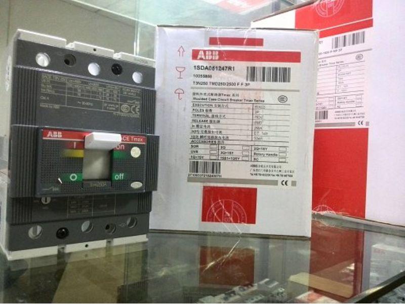 ABB带漏电总制开关A1B125 TMF100/1000 FF 4P+RCD