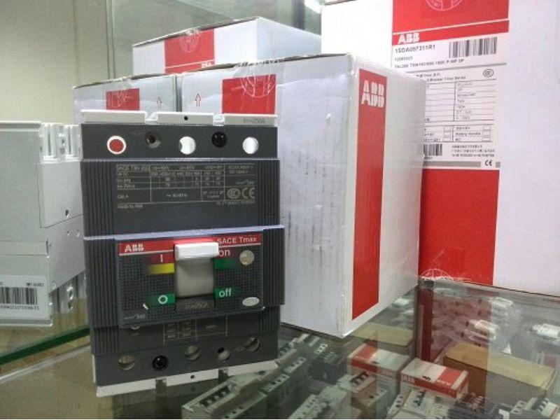 ABB漏电开关A1C125 TMF80/800 FF 4P+RCD
