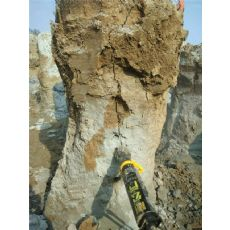 煤矿开采设备劈裂机竖井开挖用岩石分裂机青海西宁