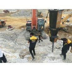 小型矿洞开采分裂机桥墩拆除电动分裂机庆阳定西