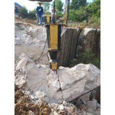 大吨位岩石劈裂机钢筋破拆分石机许昌漯河