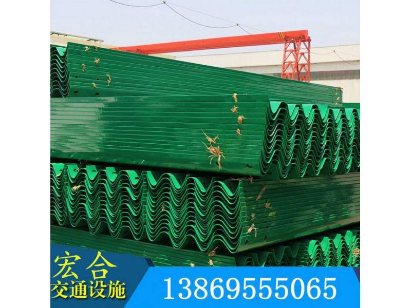 湖南公路护栏板厂家、双波护栏板、每米价格-宏合护栏板