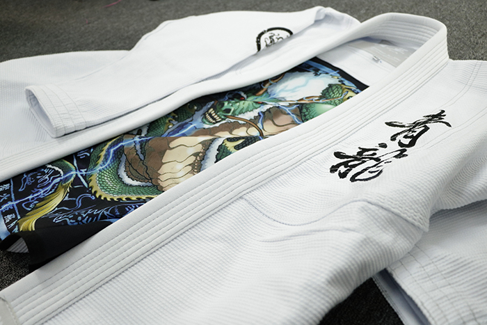 bjj gi with coolmax printing