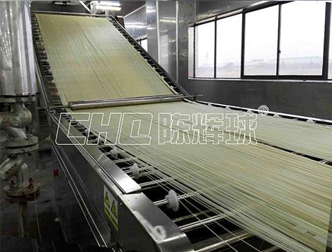 大型遵义米粉设备不是一台,而且一条生产线
