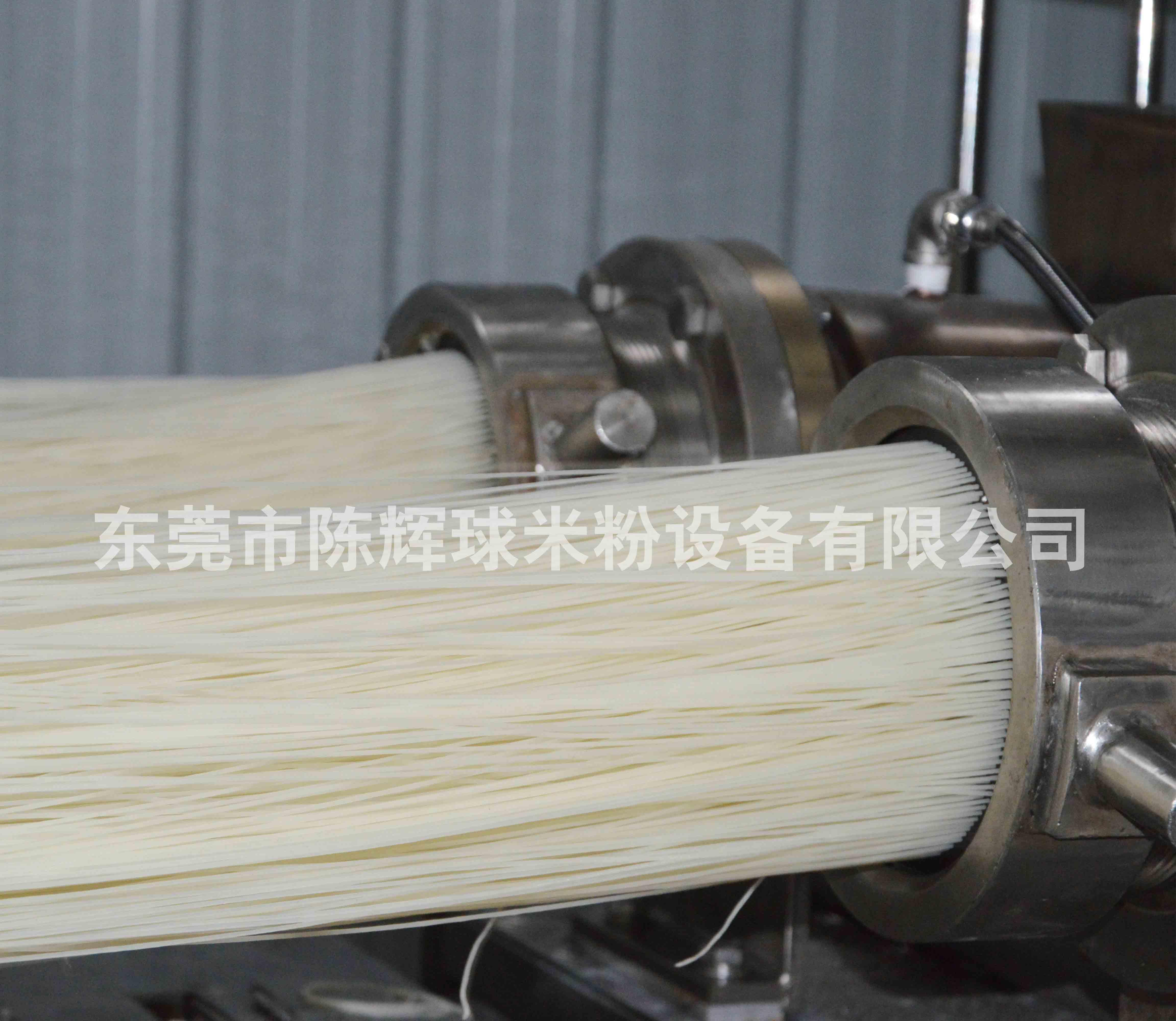 全自动运行的大型米粉设备市场前景不可估量