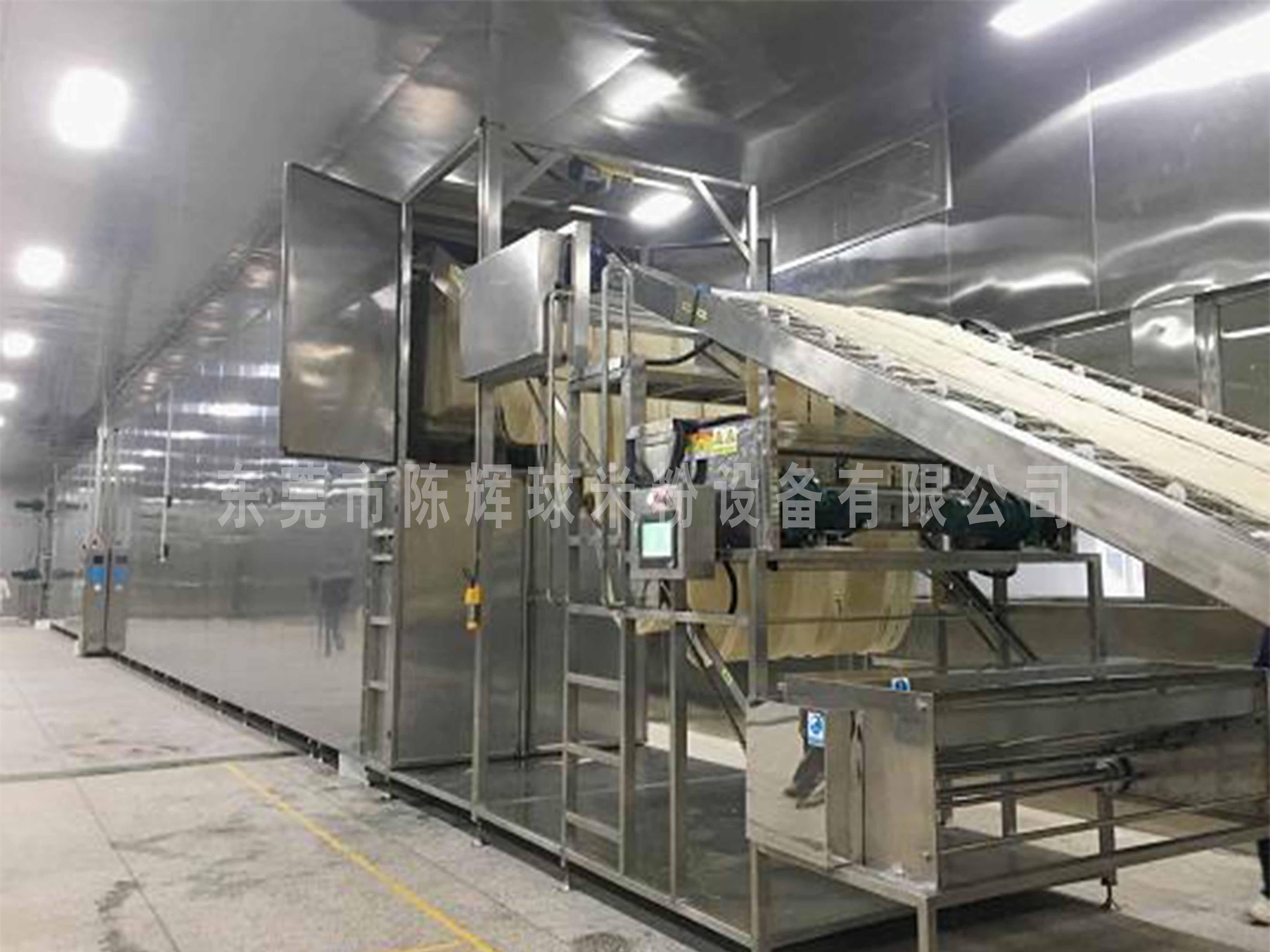 陈辉球的米粉设备助力食品安全建设发展