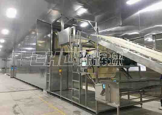 自动化米线(米粉)生产线是现代化米线、米粉生产企业的标配