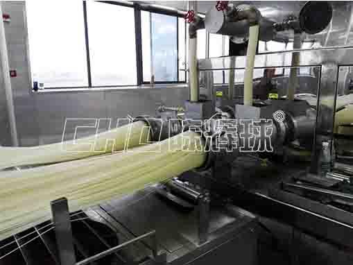 全自动米线生产设备,助力刚起步的米粉企业快速发展