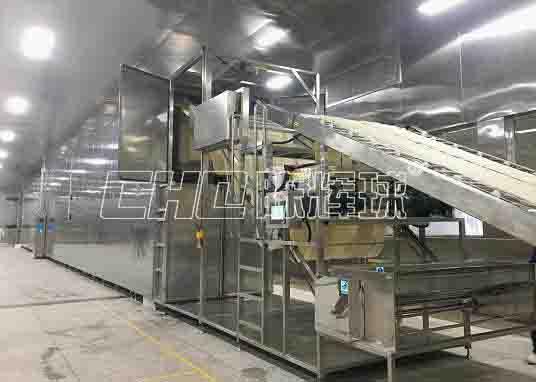 现代化大型米线生产线广受云、贵、川的米线企业欢迎