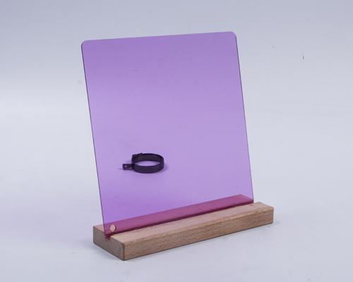 透明紫色亞克力板材