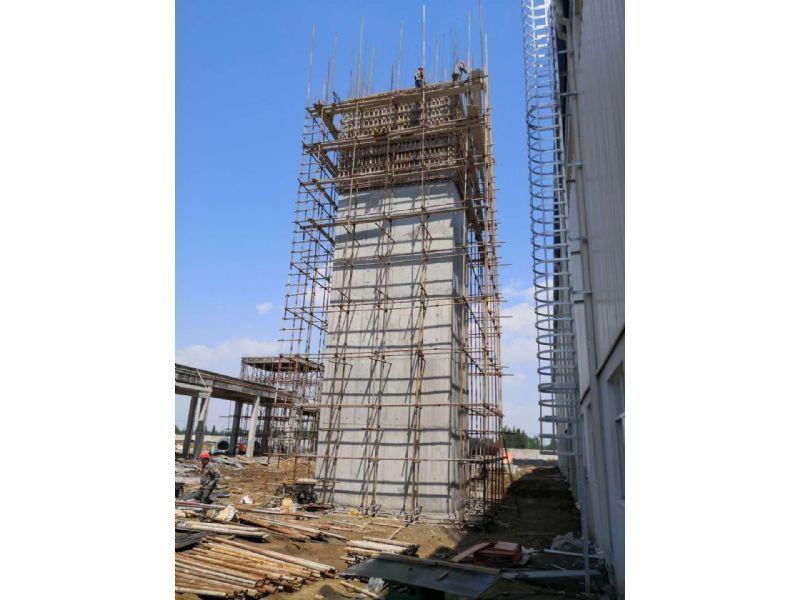 龙岩市烟囱内壁修补维修公司齐心协力