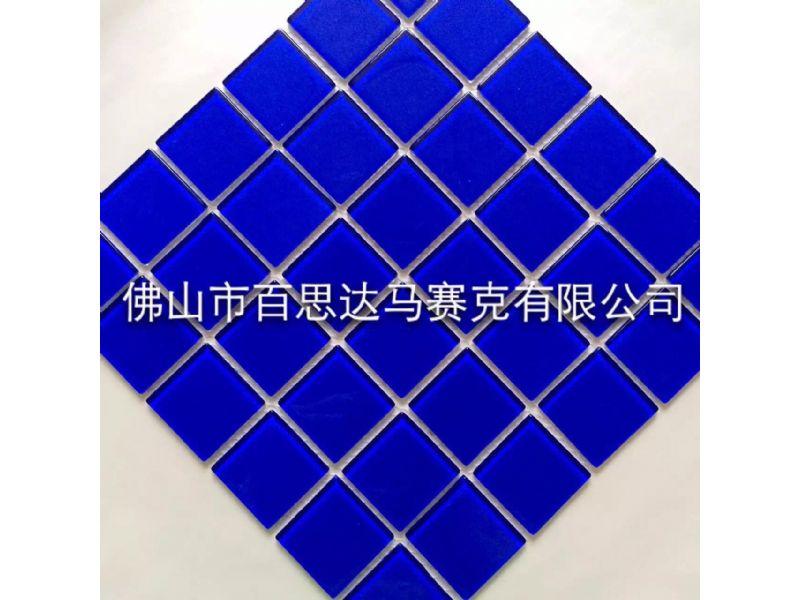 鸡西游泳池蓝色系列马赛克规格与参数——欢迎致电