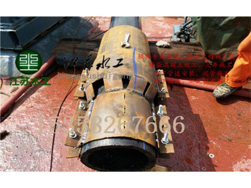 遂宁市排水管道水下安装公司提供沉管施工方案承包单位
