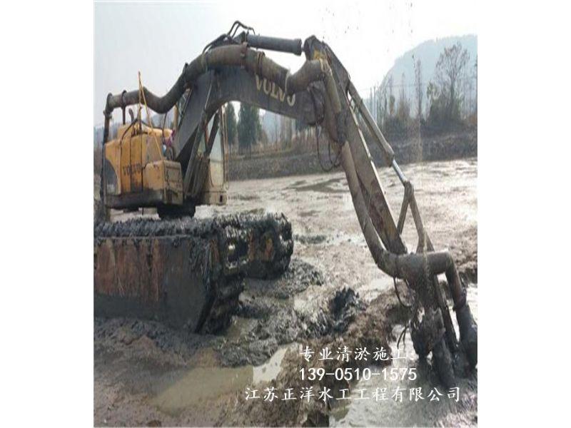 石狮市挖泥船清淤公司资质高