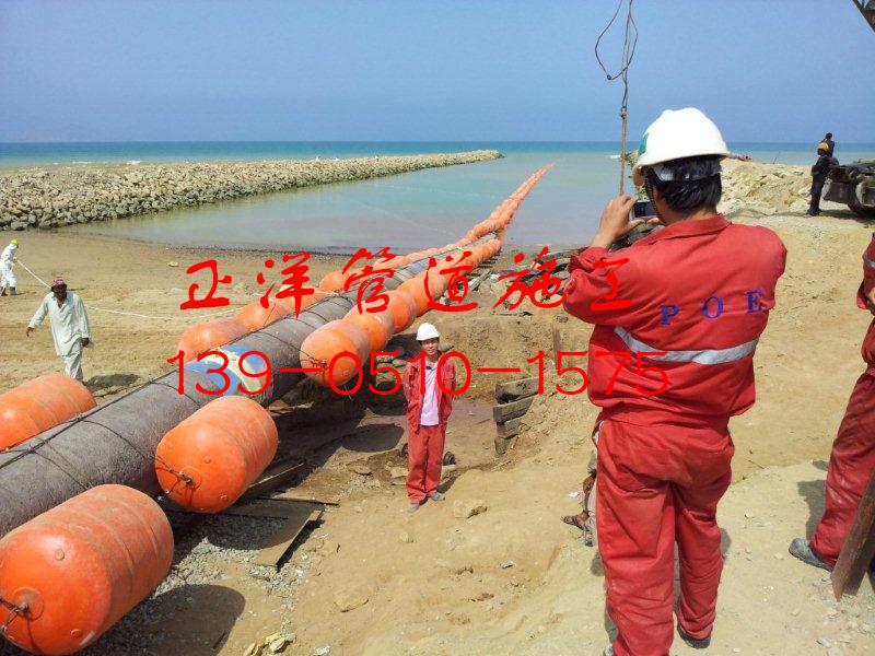 三河市沉管砂石桩公司水下管线安装