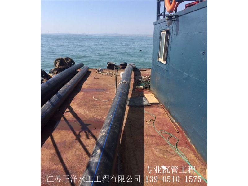 冷水江市水下沟槽开挖沉管施工公司注重安全单位