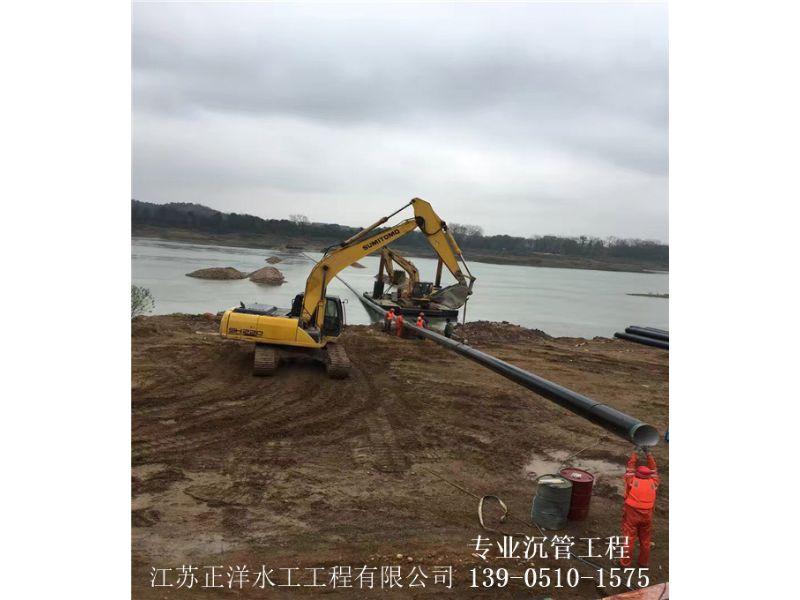 珲春市水下沟槽开挖沉管施工公司安全施工