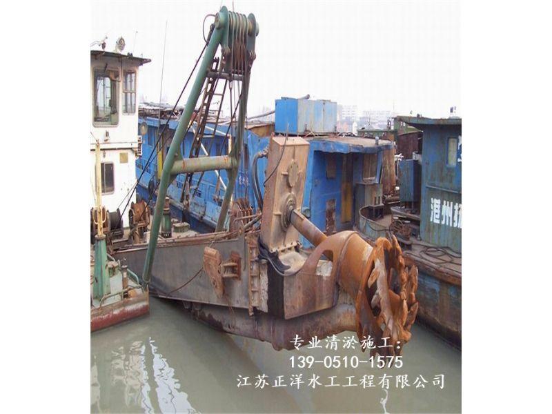 德兴市水道疏浚公司施工