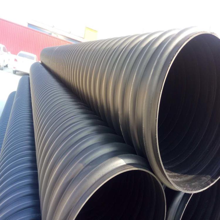 大庆HDPE钢带管出厂价格
