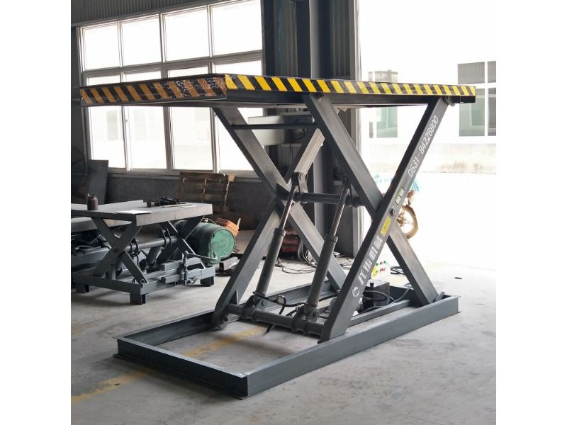 玉林市电动液压固定剪叉式升降机平台生产厂家图片