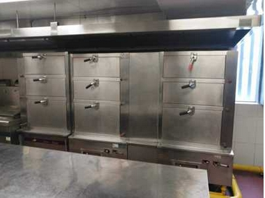 中央厨房油烟机降噪 酒店中央厨房消音环保工程 抽油烟机消音材料