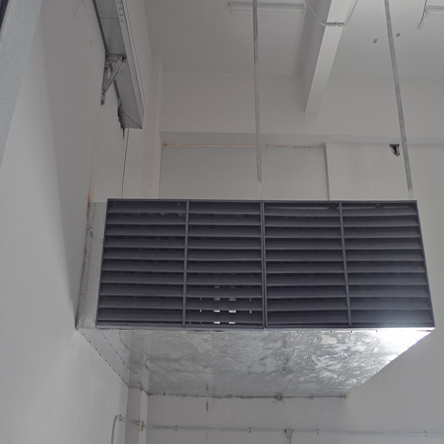 机房进排风风机消音风箱风槽