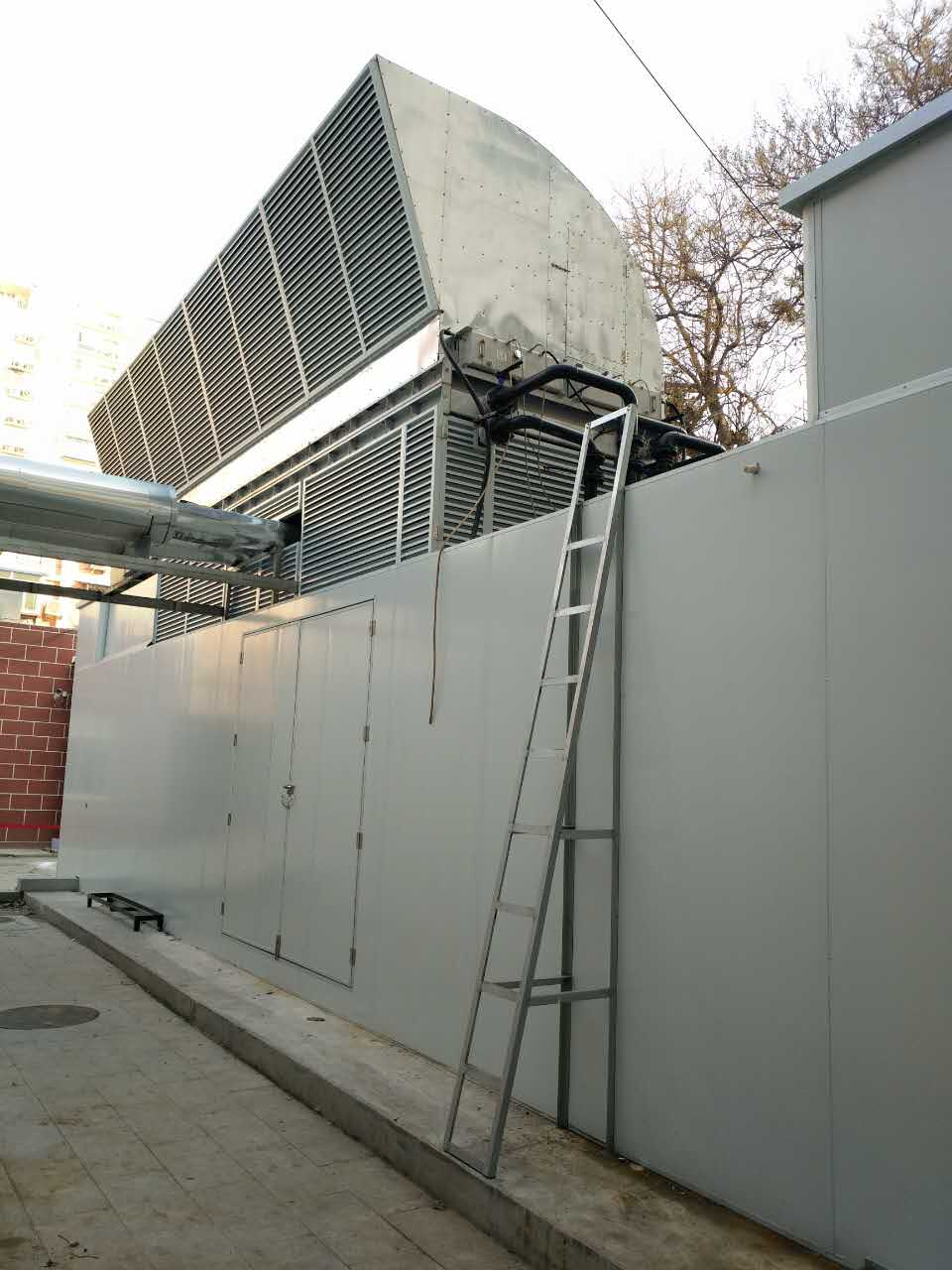 北京银行发电机组降噪移动隔音房