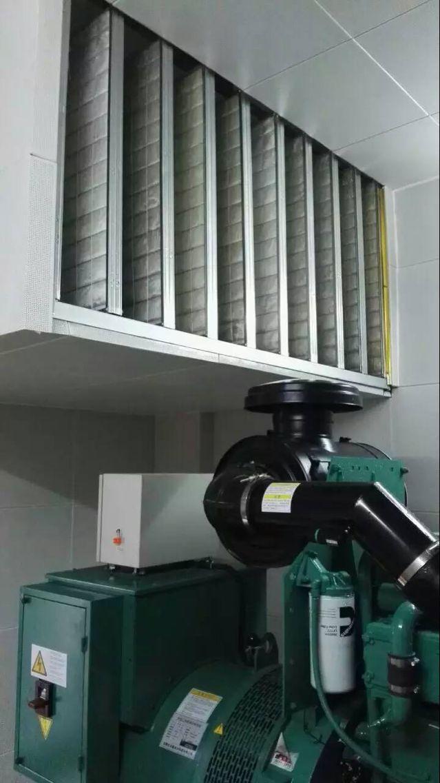 虎门太平医院发电机组降噪处理