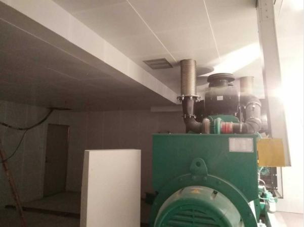 环保降噪工程发电机房隔音房设计
