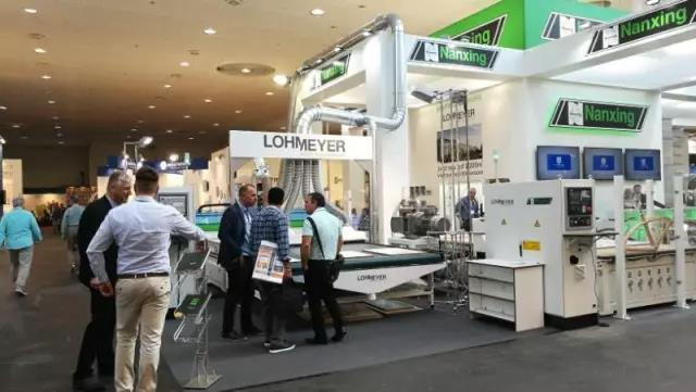 Nanxing Machinery--Ligna 2017.Hannover.Germany