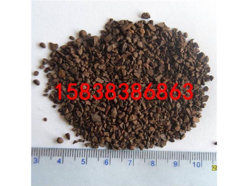 罗甸县锰砂滤料提供高品质产品  锰砂滤料