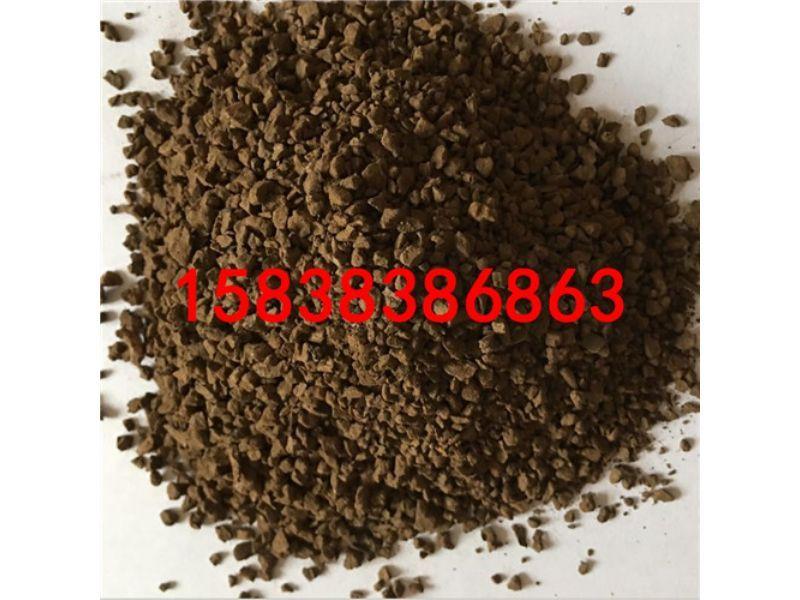 和平县锰砂滤料纯度含量高锰砂滤料