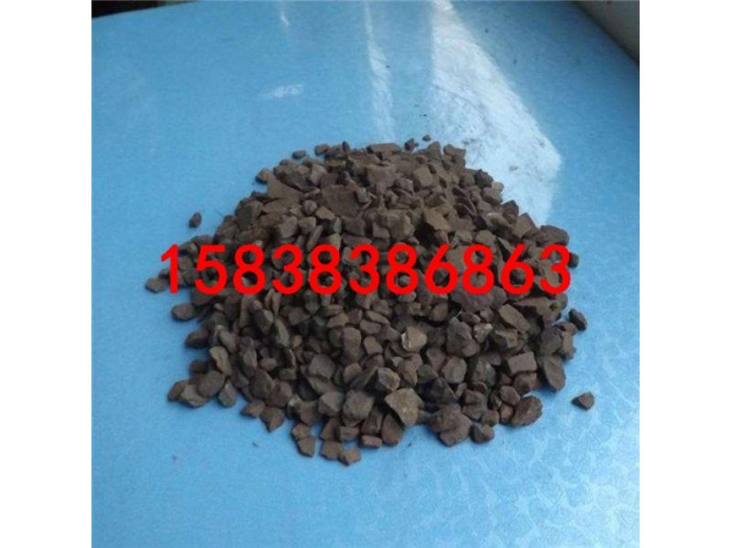 汝阳县锰砂滤料价格指导锰砂滤料