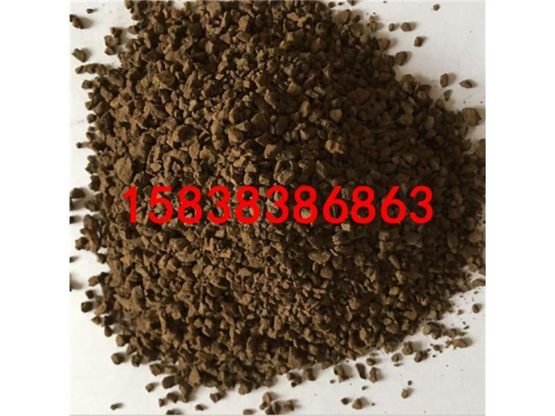 随县锰砂滤料产品介绍锰砂滤料