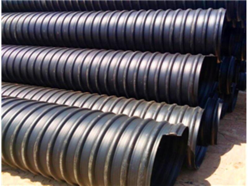丹东HDPE钢带双壁波纹管AMPP电力管厂家