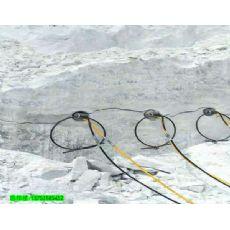 广东贵州静态爆破破石头机器劈裂机