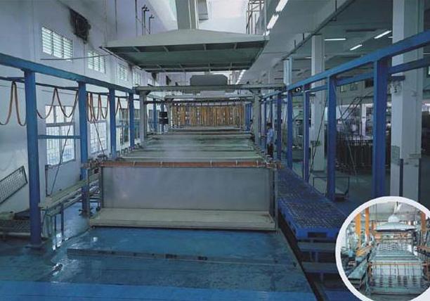 33米半氧化生产线